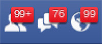 Facebook notification can be addictive