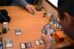 Different types of information availability (Magic: The Gathering)